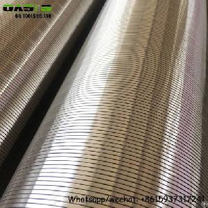 Aisi304l Deep Well Drilling Wire Wrapped Johnson Screens