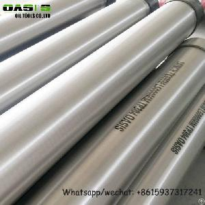 Erw Stainless Steel Water Well Casing Pipe For Well Drilling