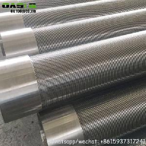 stainless steel 316l rod slot johnson water screens