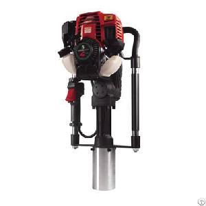 dpd 65 4 stroke guardrail post driver gas powered portable pile