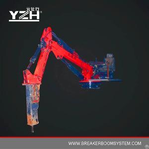 Hammer Stationary Manipulators With A Hydraulic Breaker