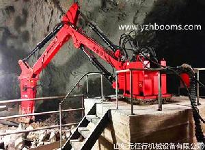 Stationary Type Hydraulic Rock Breaking Boom Systems