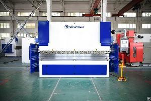 100ton press brake cnc plate bending machine 4 1axis