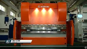 63ton Cnc Hydraulic Press Brake Machine With Cybelec Touch12 Controlled For Sheet Metal Plate