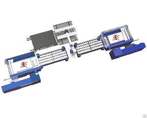 automated sheet metal line laser cutting machine