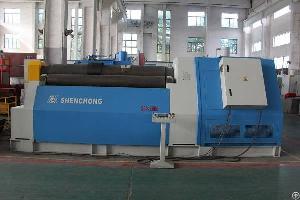 cnc 4 roller plate bending machine sheet metal rolling
