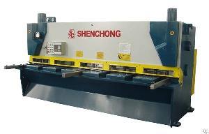 Cnc Hydraulic Guillotine Plate Shearing Machine For 8mm 3200mm Sheet Metal Cutting