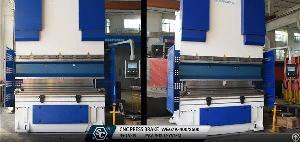 cnc hydraulic press brake italy we67k 400t 2500mm bending machine