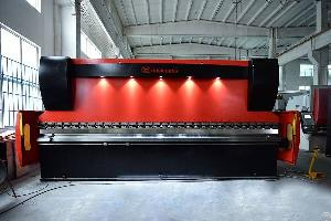 Cnc Hydraulic Press Brake Machine France For Steel Plate Bending Metal Forming