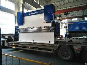 cnc hydraulic press brake machine smart manufacturing