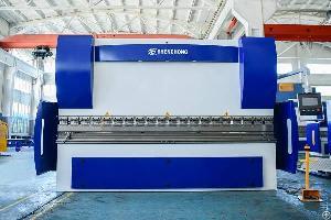 cnc hydraulic press brake machine compensation