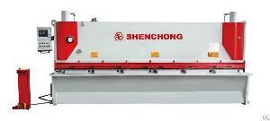 cnc hydraulic shearing machine steel cutting blade sheet metal