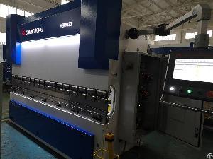 Hybrid Cnc Press Brake Servo Bending Machine For Sheet Metal