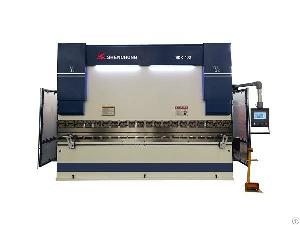 hybrid press brake machine 400ton esa s630