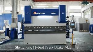 Hybrid Press Brake Machine Cnc Plate Bending Machine Double Servo Energy Saving Series