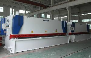 Hydraulic Guillotine Shear Steel Metal Cutting Machine