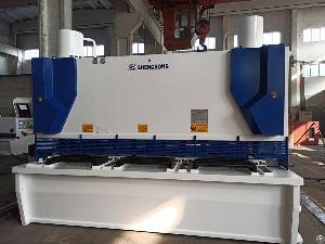 hydraulic guillotine shearing machine peru 30mm 3200mm dac360 control system