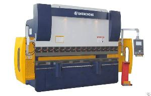 italy cnc hydraulic press brake machine 100ton 3200mm 6 1axis dnc880s control system