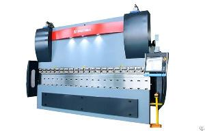 korea cnc hydraulic press brake machine sheet metal plate bending machines
