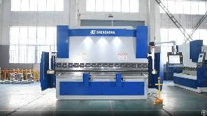 multi axis cnc press brake 8 1axis 3200mm metal plate bending machine100ton