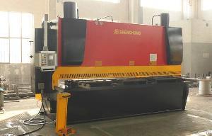 Peru Hydraulic Guillotine Plate Shearing Machine Price