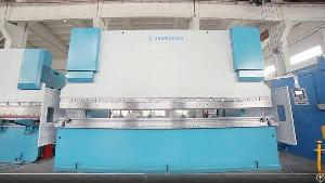 saudi arabia heavy duty cnc press brake 450ton 6200mm steel sheet metal plate bending machine