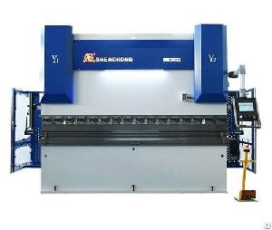 servo electric hybrid press brake machine sheet metal bending