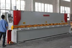 Shearing Machine Manufacturer Cnc Hydraulic Guillotine Shear For 6m 6mm Metal Plate Cutting