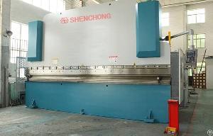 shenchong hydraulic cnc press brake 300t 6000mm da52 3axis