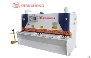 Steel Metal Hydraulic Guillotine Shearing Machine Germany