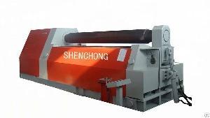 steel plate roller 4 roll bending rolling machine