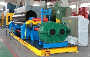 thailand 3 roller plate bending rolling machine
