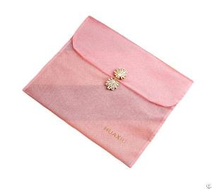 pink organza bag cheongsam scarf package