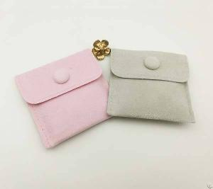 Velvet Envelope Jewelry Pouch With Your Logo Printing