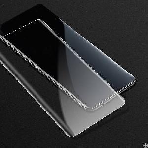 anti fingerprint uv liquid glue bend glass screen protector samsung s10 plus