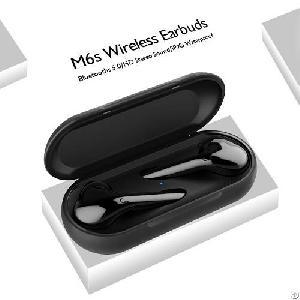 bluetooth headphones ears wireless earbuds mic mobile phone