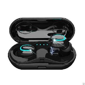 Bluetooth V5.0 Stereo Sound True Wireless Headphones Earbuds With Charging Box