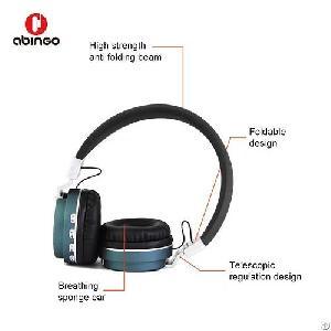 bt 6 folding wire wireless bluetooth headphone