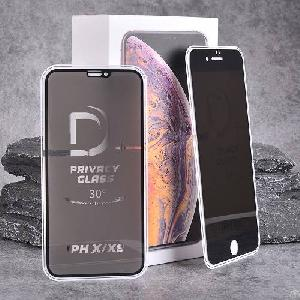 d 9h hardness privacy shockproof anti spy tempered glass screen protector