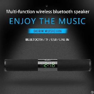 oneder v01 hi fi sound hd led display multi wireless bluetooth speaker
