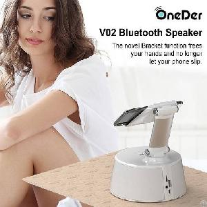 oneder v02 hi fi sound wireless bluetooth speaker mic