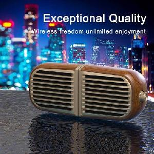 oneder v8 portable twins stereo wireless bluetooth speaker
