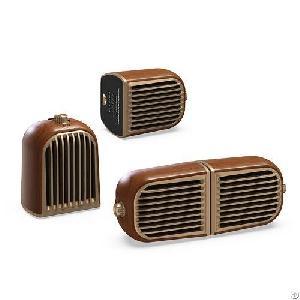 v8 3d stereo sound twins speaker portable shoulder strap