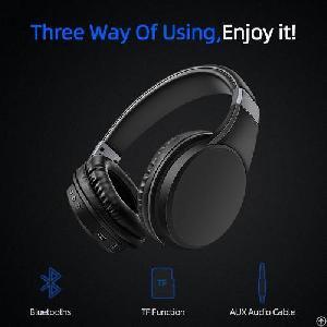Y6 Stereo Sound Adjustable Headband Wireless Bluetooth Headphone