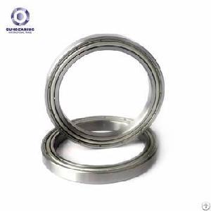 sunbearing 16009 silver 45 75 10mm chrome steel gcr15 deep groove ball bearing