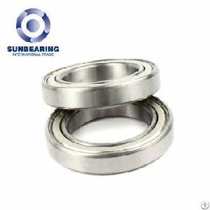 sunbearing 6905 silver 25 42 9mm chrome steel gcr15 deep groove ball bearing