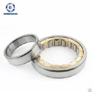Sunbearing Nj322ecj Silver 110 240 50mm Chrome Steel Gcr15 Cylindrical Roller Bearing