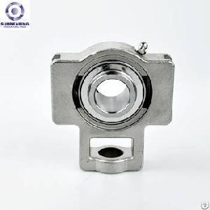 sunbearing pillow block bearing suct205 silver 25 97 89mm stainless steel gcr15