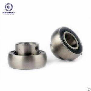 sunbearing pillow block bearing uc211 silver 55 100 6mm chrome steel gcr15