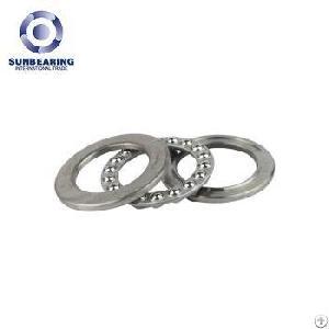 sunbearing thrust ball bearing 51207 silver 35 62 18mm chrome steel gcr15